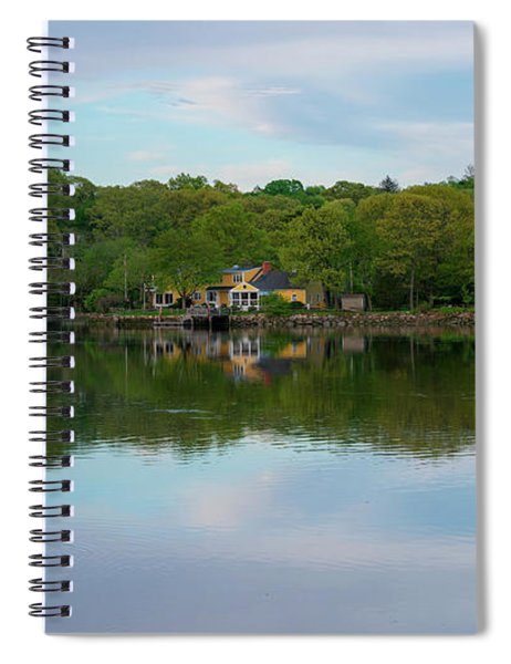 Quiet Evening By The River Spiral Notebook