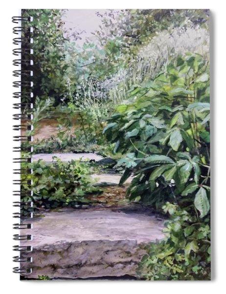 Quiet Path Spiral Notebook