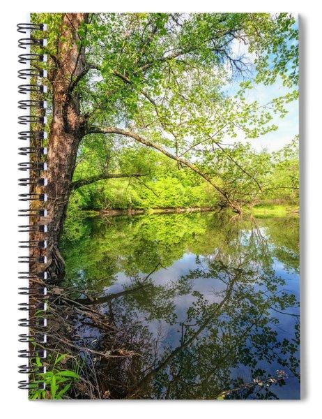 Quiet Reflections Spiral Notebook