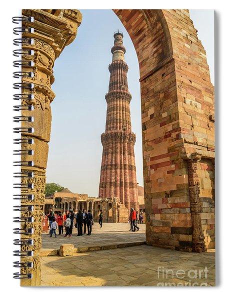 Qutub Minar 01 Spiral Notebook
