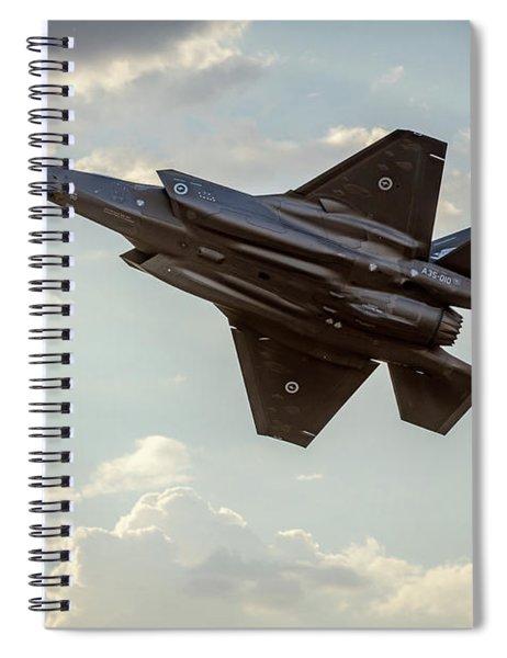Raaf F-35a Lightning II Joint Strike Fighter Spiral Notebook