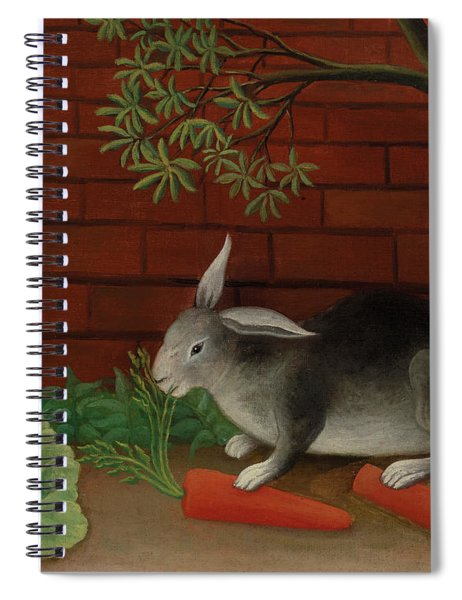 Rabbit, 1908 Spiral Notebook