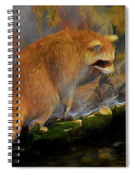 Raccoon 81419 Spiral Notebook