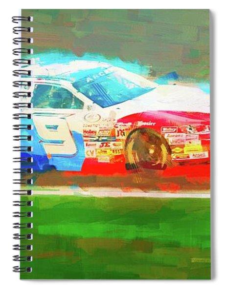Racetrack Nine Spiral Notebook