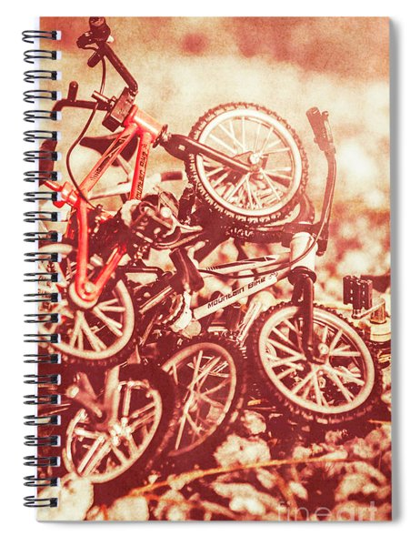 Racing Competition Spiral Notebook