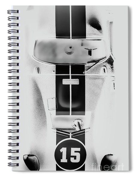 Racing Stripes Spiral Notebook