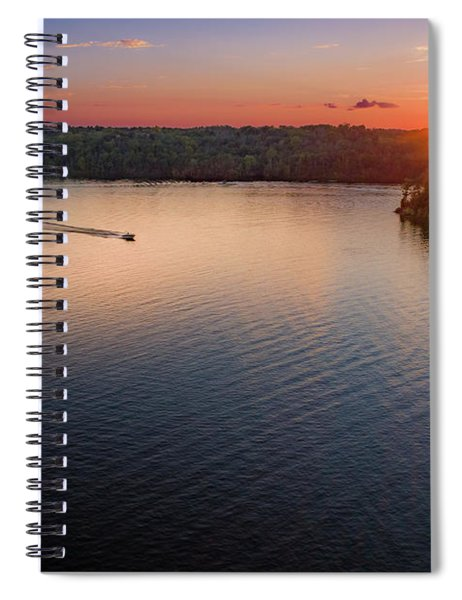 Racing The Sun Spiral Notebook
