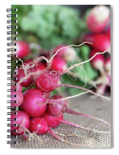 Radish Spiral Notebook