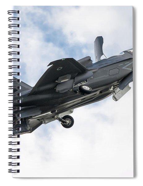 Raf F-35b Lightning II Spiral Notebook