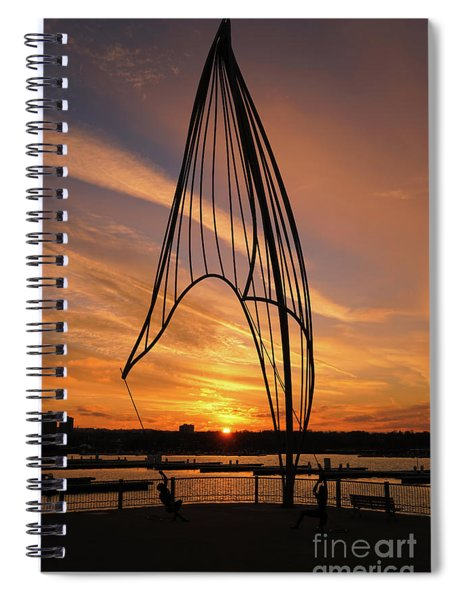 Rafaga Unleashed Sunset 2 Spiral Notebook