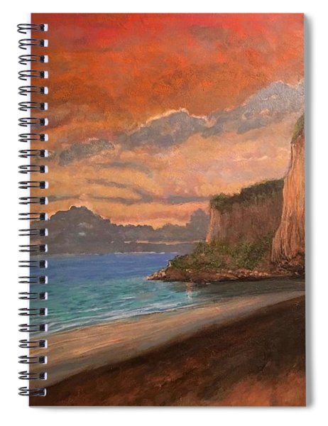 Railay Beach, Krabi Thailand Spiral Notebook