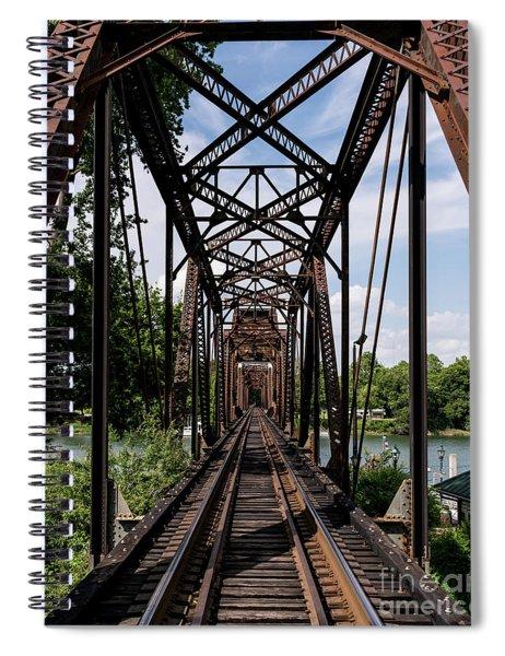 Railroad Bridge 6th Street Augusta Ga 1 Spiral Notebook