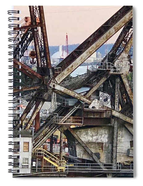 Railroad Bridge Spiral Notebook