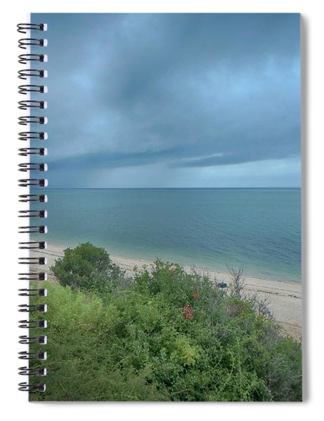Rain In The Distance Spiral Notebook