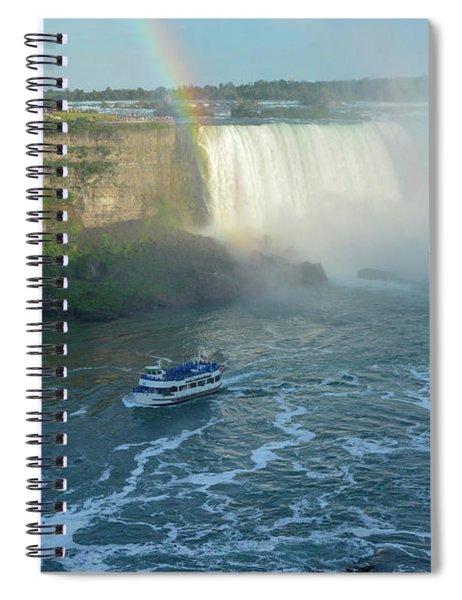 Rainbow Glow Spiral Notebook