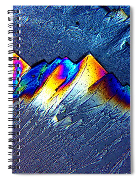 Rainbow Mountains Spiral Notebook