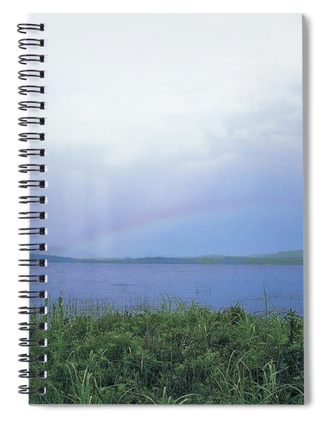 Rainbow Over Raquette Lake Spiral Notebook