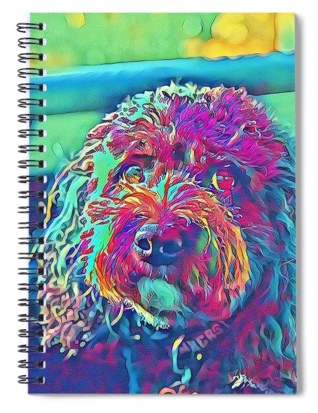 Rainbow Pup Spiral Notebook