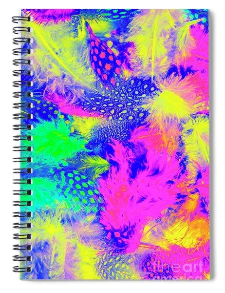 Rainbow Radiance Spiral Notebook