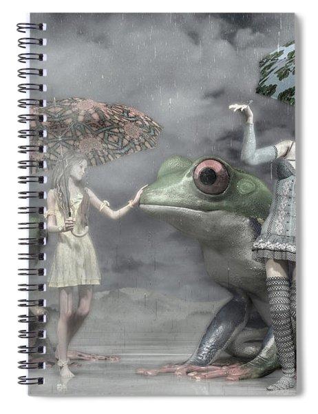 Rainy Day Daydream  Spiral Notebook