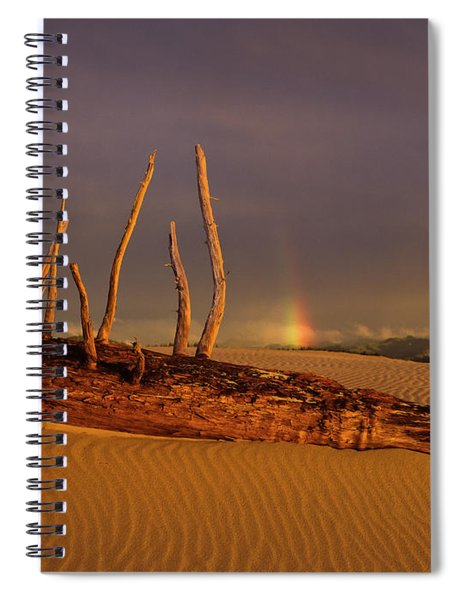 Rainy Day Dunes Spiral Notebook