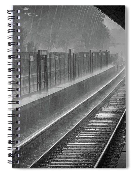 Rainy Days And Metro Spiral Notebook