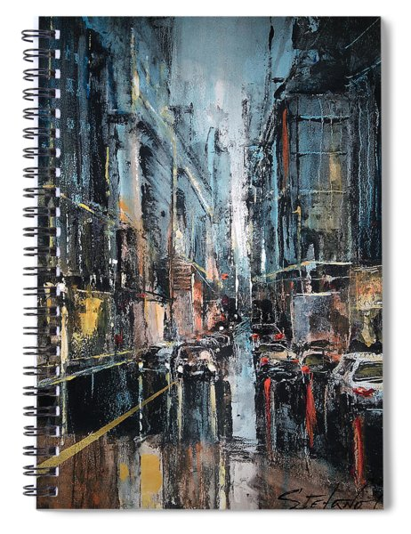 Rainy Expression Spiral Notebook