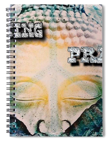Raising Prana Spiral Notebook