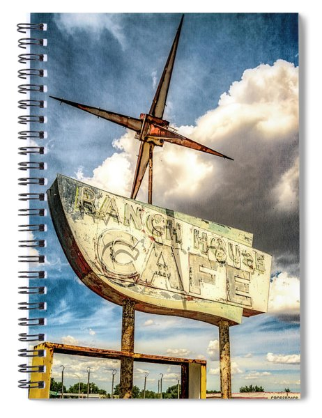 Ranch House Cafe Spiral Notebook