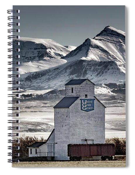 Ranchland Elevator Spiral Notebook