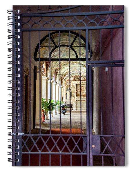 Random Sites Spiral Notebook