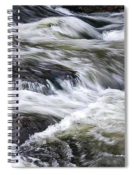 Rapids At Satans Kingdom Spiral Notebook