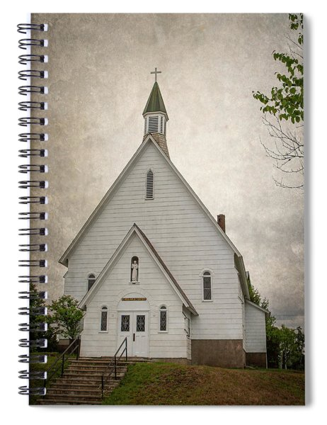 Raquette Lake Chapel Spiral Notebook