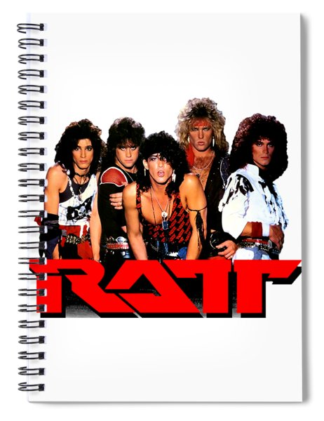Ratt Band Spiral Notebook