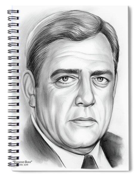 Raymond Burr Spiral Notebook