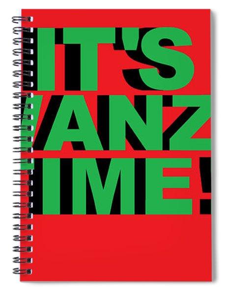 Rbg Kwanzaa Spiral Notebook