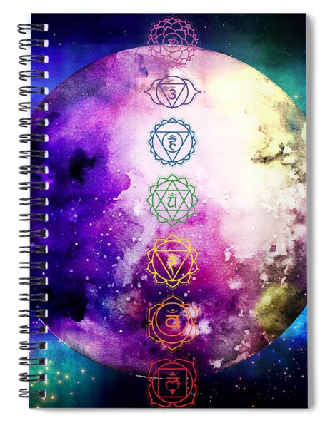 Reach Out To The Stars Spiral Notebook
