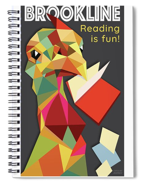 Reading Is Fun Spiral Notebook