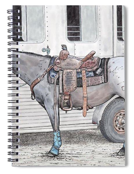 Ready For Battle  Spiral Notebook