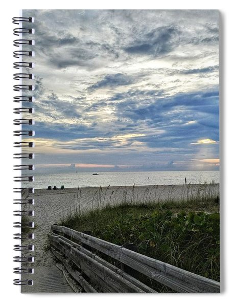 Ready For Sunset Spiral Notebook