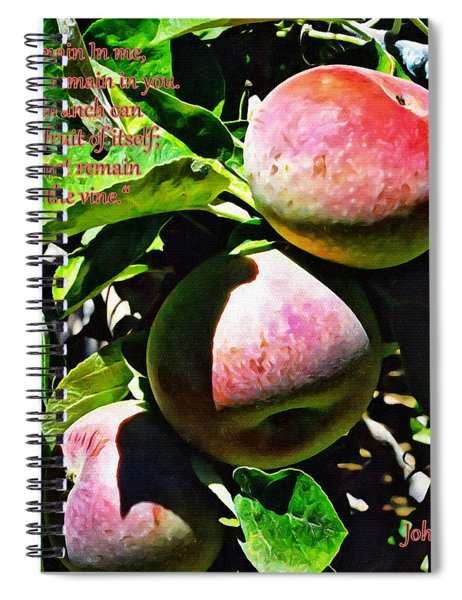 Real Fruit Spiral Notebook