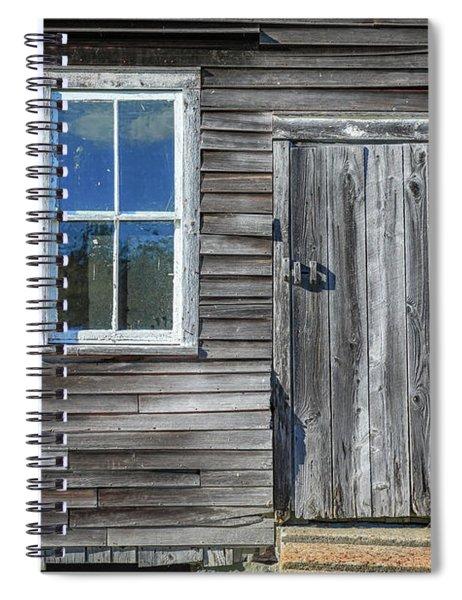 Rear Barn Door Spiral Notebook