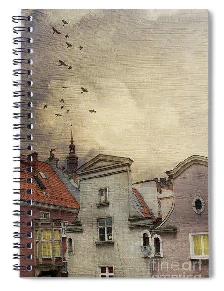 Rear Window Spiral Notebook