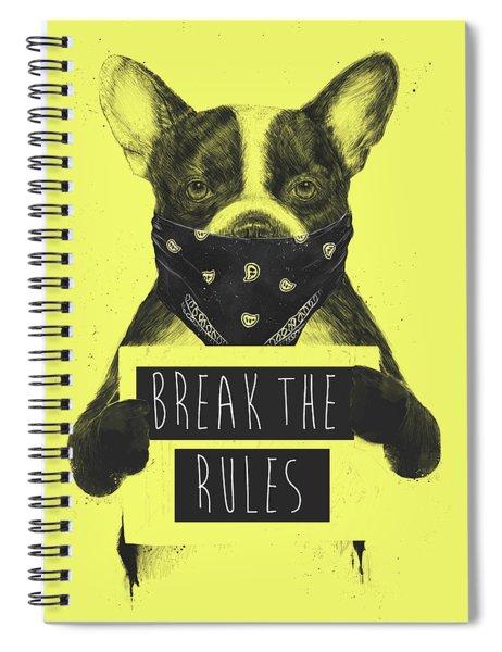 Rebel Dog II Spiral Notebook