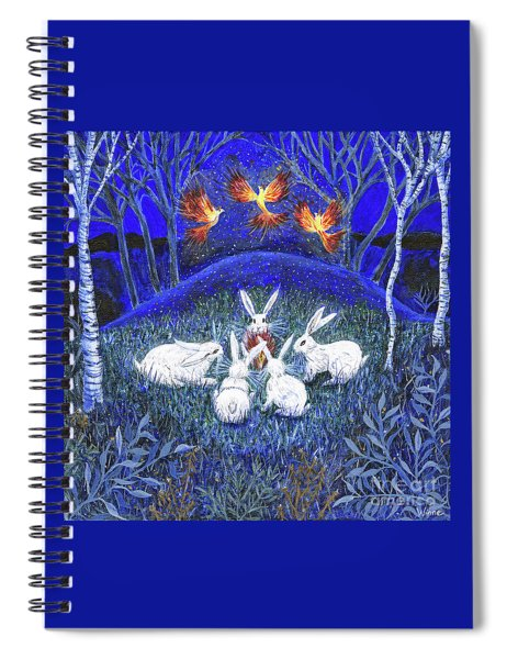 Rebirth Of The Firebirds Spiral Notebook