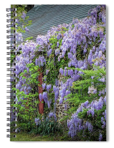 Reclaimed By Nature Spiral Notebook