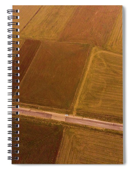 Rectangles Spiral Notebook
