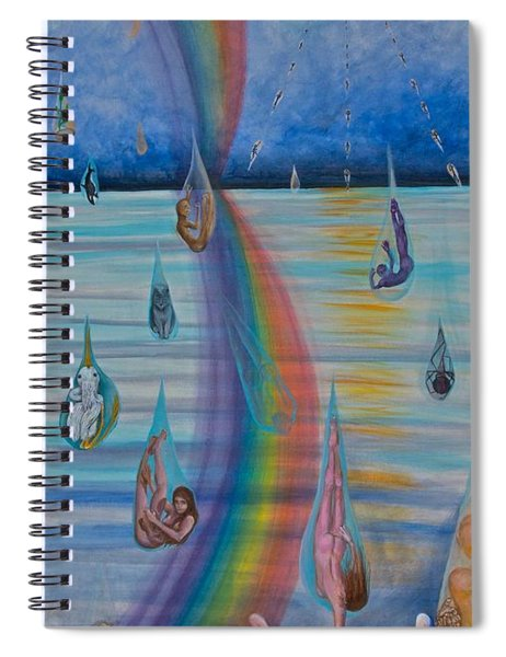 Recycled Energy Spiral Notebook