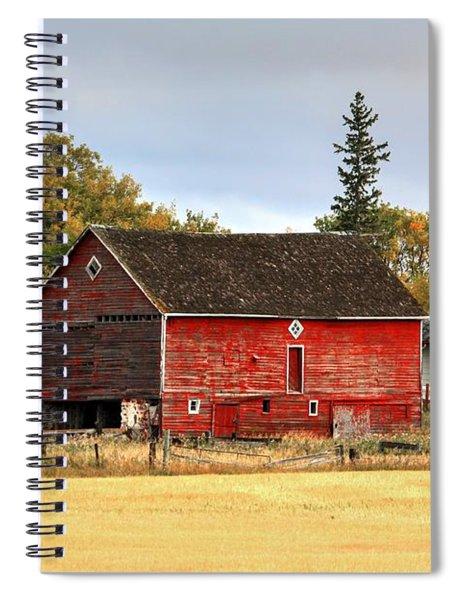 Red Barn Fall Spiral Notebook