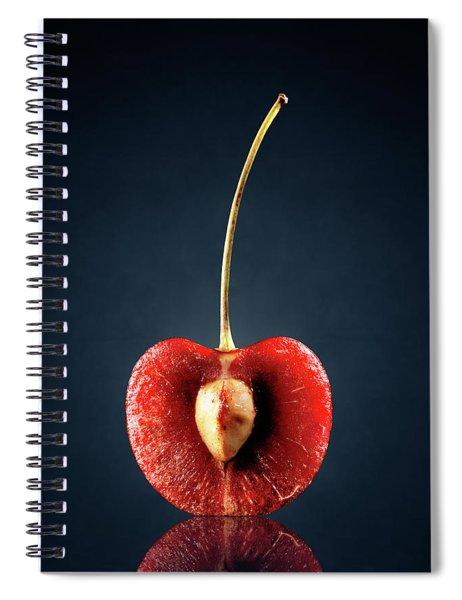 Red Cherry Still Life Spiral Notebook